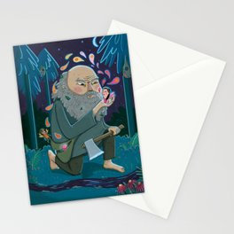 Giant & Fairies Stationery Cards
