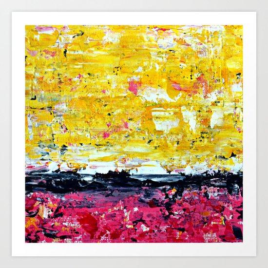 Color Combo #1 Art Print