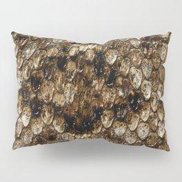 Faux Rattlesnake Skin Design Pillow Sham
