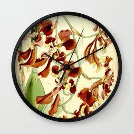 Cyrtochilum serratum Wall Clock