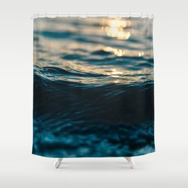 Cold Water Shower Curtain