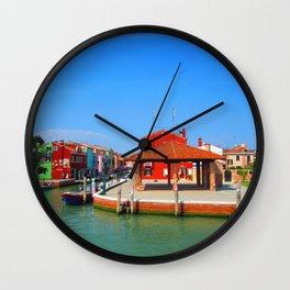Drunken Fishermen Wall Clock