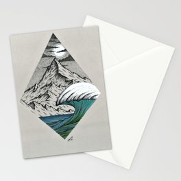 Moonshine colors Stationery Cards