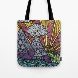 Zentangle - Zenspire  Tote Bag