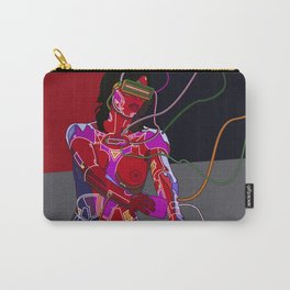 Jessica Biel 80s cyborg Carry-All Pouch