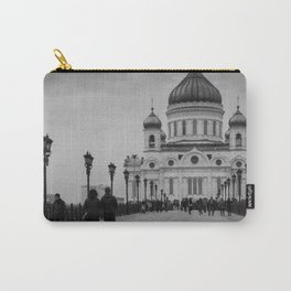 the Cathedral of Christ the Savior in Moscow Carry-All Pouch