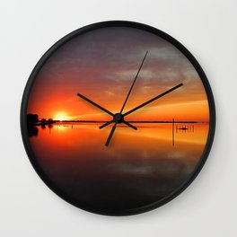 Unimagined Passion Wall Clock
