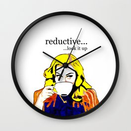 madonna Reductive Wall Clock