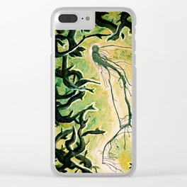 Nature Spirit Clear iPhone Case