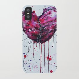 Fused Hearts iPhone Case