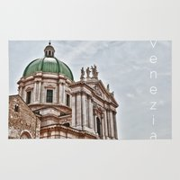 italy Area & Throw Rugs featuring Italy by LaiaDivolsPhotography