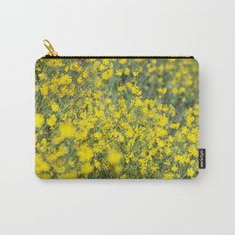 Beautiful shiny yellow Carry-All Pouch