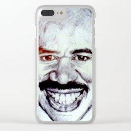 Mustache Clear iPhone Case