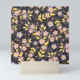 Rosy Garland Mini Art Print
