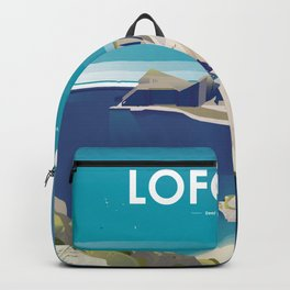 Alone In Nature - Deep Blue Deep View Backpack