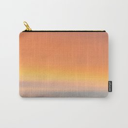 Wind Brush Sunset Carry-All Pouch