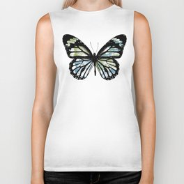 Watercolor Wings Biker Tank