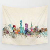 ohio Wall Tapestries featuring cleveland ohio by bri.buckley