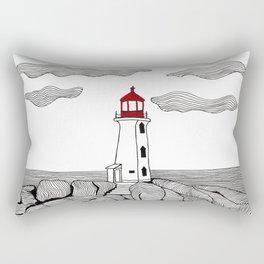 Peggy's Cove Lighthouse Rectangular Pillow