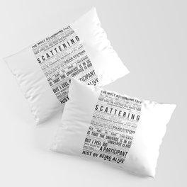 Neil DeGrasse Tyson Science Manifesto Pillow Sham
