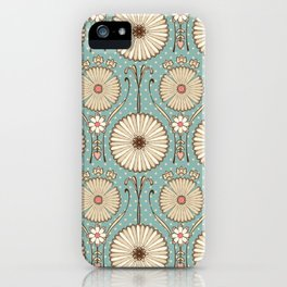 Blue Daisies iPhone Case