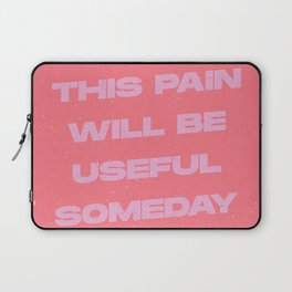 this pain will be useful Laptop Sleeve