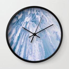 Icicle Art Wall Clock