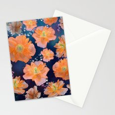 Poppies in Space Stationery Cards
