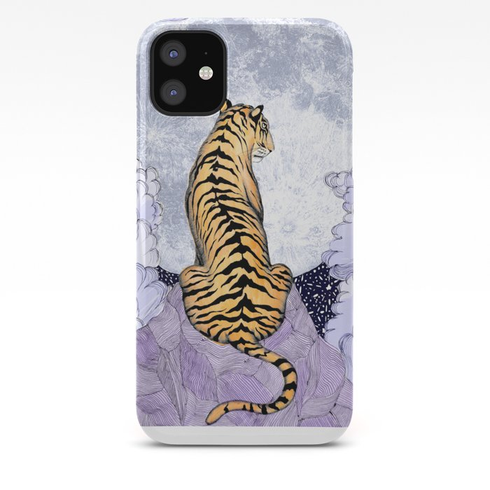 Tiger Moon | Colour Version iPhone Case