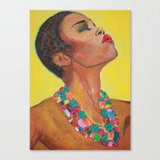 Sun Girl Canvas Print