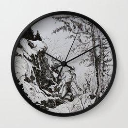 Nuuttipukki Wall Clock