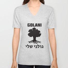 Israel Defense Forces - Golani Warrior Unisex V-Neck
