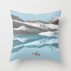No River Wide Enough Throw Pillow