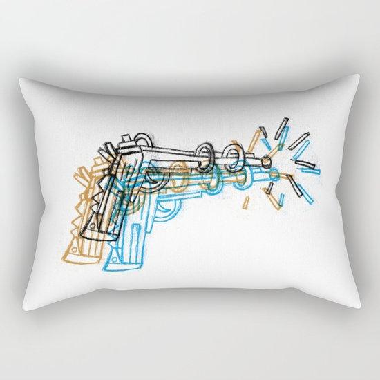 Gun Rectangular Pillow