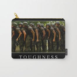 Toughness: Inspirational Quote and Motivational Poster Carry-All Pouch
