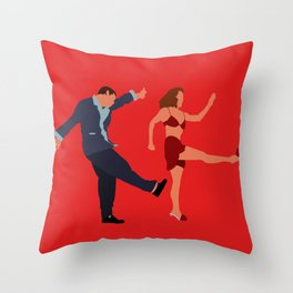 I'll never tell Throw Pillow