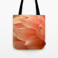 jewish Tote Bags featuring Gentle Petals by Brown Eyed Lady