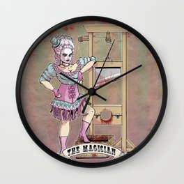 The Headless Magician Wall Clock