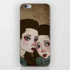 Twin Princesses iPhone & iPod Skin