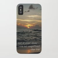 bon iver iPhone & iPod Cases featuring Bon Iver - Holocene by Alane Gianetti