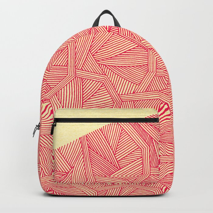 - summer : the monolith is pink - Backpack