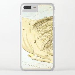 Sidney Hall - Urania's Mirror (1824) - Capricorn Clear iPhone Case