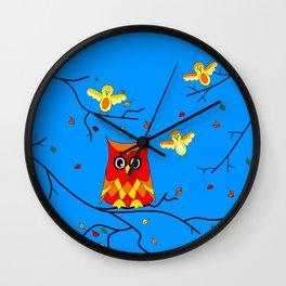 How Tweet It Is Nature Wall Clock