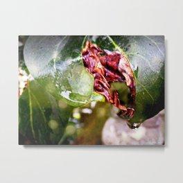 Sensual leaves Metal Print