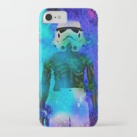 stormtrooper iPhone & iPod Cases featuring Stormtrooper   by Saundra Myles