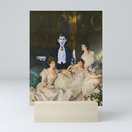 Dracula and the Wyndham Brides Mini Art Print