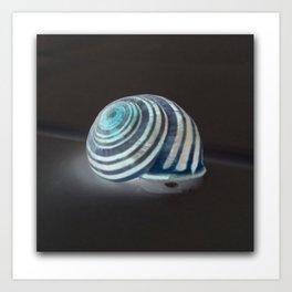 Glowing Snail Art Print