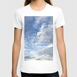 The Same Sky T-shirt