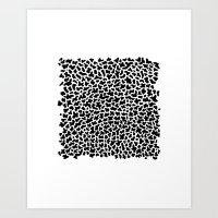 noise Art Print