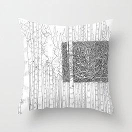 Something Old, Something New Throw Pillow